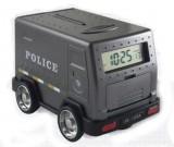 Police Car Coin Bank Piggy Bank