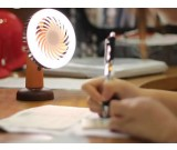 Portable USB Rechargeable fan with LED Night Light