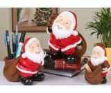 Santa Claus Desk Decoration Pencil Holder,Toothpick Holder,Piggy Bank