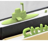 3D Silicone Bookmarks(3pcs)