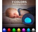 Silicone LED Rabbit  Bunny Sensor Touch Night Light