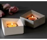 Tea Light Concrete Candle Holder