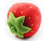 Strawberry Shaped Cushion Throw Pillow