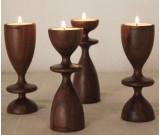 Tea Light Wooden Candle Holder(single)