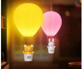 USB Rechargeable Hot Air Balloon LED Night Light with Wireless Remote Control