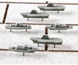 Warship Push Pins - Pack of 15