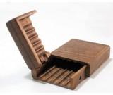 Wooden Cigarette Case  Box Holder