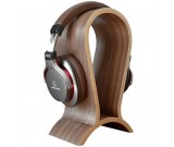 Wooden Headphone Stand , Fit for All Headphone Sizes