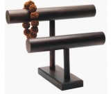 Wooden Necklace & Bracelet Jewelry Display Stand & Organizer