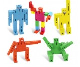 Wooden Puzzle Transformer Cube Robot Toy