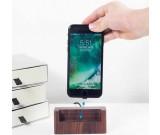 Wooden USB Type C Lightning Charging Dock Charger Station