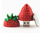 32G Strawberry Shaped USB Flash Drive