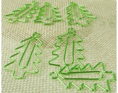 18PCS  Christmas Tree Shaped Paper Clips