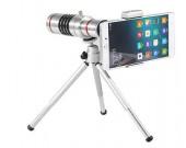 18x Optical Zoom Universal Smartphone Telephoto Telescope Lens  + Tripod