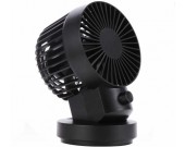 3 Speeds Dual Blades Rechargeable Desktop Cooling Fan