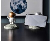 Fun mini cartoon astronaut cell phone holder