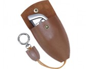 Vintage hanmade leather car key case