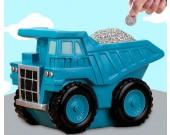 Creative cartoon engineering vehicle car children piggy bank