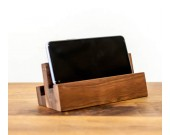 Creative Desktop Wooden Mobile Phone Holder Ipad Stand