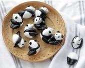 5 Pcs Panda Refrigerator Magnets Fridge Magnets Panda For Kitchen or Office