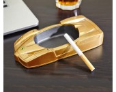 Creative Golden Sports Car Shape Desktop Decoration Ashtray