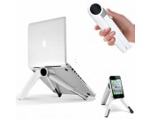 Adjustable Aluminum Alloy Universal Laptop Notebook iPad Smartphone Stand Holder