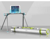 Adjustable Portable Foldable floor Holder for  Ipad / PAD / Phone / Tablet