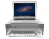 Aluminum Alloy Monitor Stand Laptop Riser Shelf for iMac Macbook Computer Desktop Screen Stand