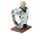 Astronaut & Old Man Watch Jewelry  Display Stand