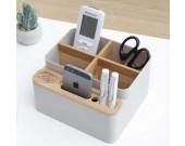 Multipurpose Desk Organizer Pen Pencil Holder Desk Supplies Storage Box