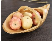 Bamboo Root Nuts Snack Stores Tray Organizer