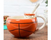 Basketball & Football Ceramic Cup