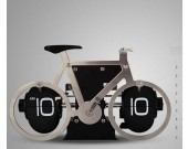 Bicycle Shaped Auto Flip Clock