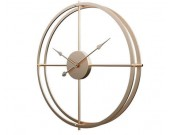 Metal  Wheel Wall Clock