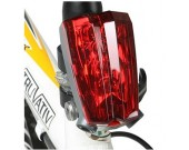 LED Bike Red  Laser Beam Rear Tail Light