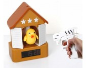 Bird Gun Shooting Alarm Clock