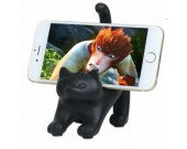 Black Cat Cell Phone Stand