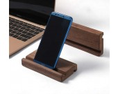 Black Walnut Portable Wooden Smartphone Holder