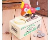 Bird Stealing Coin Piggy Bank