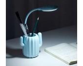 Cactus Rechargeable LED Desk Night Light Pen Holder