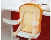 Cartoon Toast Plush Doll Back Cushion