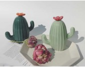 Ceramic Cactus Piggy Bank