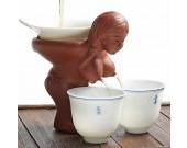 Ceramic Women's Breasts Tea Dispenser