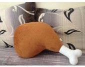 Chicken Leg Shaped Throw Pillow Plush Toys