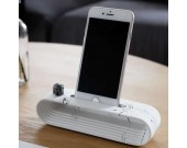 Concrete Cell Phone Charging Dock Sound Amplifier Stand Dock for SmartPhone