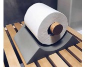 Concrete Desk Toilet Paper Holder