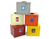 Cube Shipping Container Tissue Box