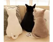 Cute Cat Throw Pillow Back Cushion Pillow