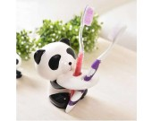 Cute Ceramic Panda Toothbrush Holder