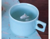 Cute Horse Figurine Ceramic Coffee Cup